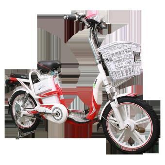 Xe đạp điện HK Bike ZINGER COLOR (Đỏ phối trắng)