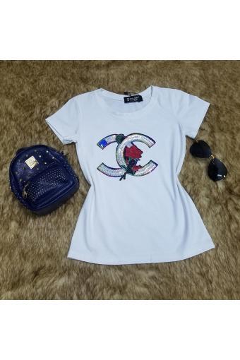 (Hình thật 100%) Áo thun Hàn Quốc thiết kế thời trang