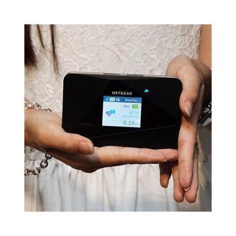 Thiết bị phát sóng wifi 4G/3G LTE Netgear Aircard 785s tốc độ cao, màn hình hiện thị thông minh tặng...