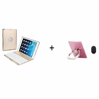 Bộ bàn phím iPad Pro 9.7 keyboard LED 7 + giá đỡ phone stand