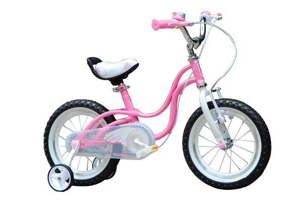 Xe đạp Little Swan 16 màu hồng