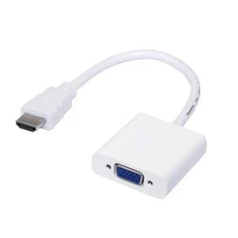Cáp chuyển đổi HDMI sang VGA HDMI To VGA Adapter (Trắng)