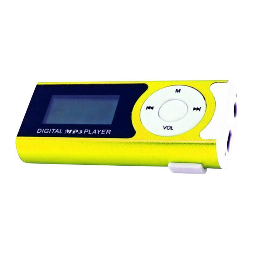 Máy MP3 màn hình LCD dài - Xanh lá