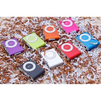 Máy nghe nhạc MP3 và thẻ nhớ 2GB, Tặng tai nghe và cốc sạc