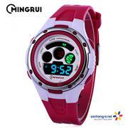 Đồng hồ điện tử đeo tay thể thao Mingrui 8558095 - Đỏ