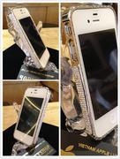 viền đính đá pha lê iPhone 4/4S