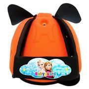 Mũ bảo vệ đầu cho bé BabyGuard (Cam) logo Elsa 236