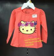 Áo dài tay Kitty Zara Việt Nam size từ 1 tuổi đến 3 tuổi