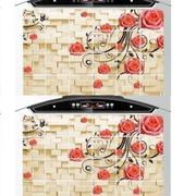Bộ 2 giấy dán bếp cách nhiệt cỡ lớn 60*90cm GocgiadinhVN (Hoa leo tường)