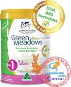 Sữa Green Meadows Cho Bé Từ 0- 6 Tháng Tuổi