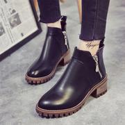 Giày boot retro 8425
