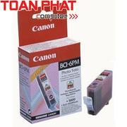 Mực in Phun màu Canon BCI 6PM (Photo Magenta) - Màu đỏ nhạt - Dùng cho Canon iP-3000, 4000, 5000, 60...