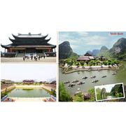 Hà Nội - Royal City - Chùa Bái Đính - Tràng An - Yên Tử - Hạ Long - Tặng vé xem Show Tứ Phủ