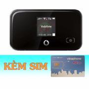 Bộ Phát Wifi 3G/4G Vodafone R212+Sim 4G Vinaphone Khuyễn Mãi 120GB/Tháng