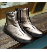 giày boot nam dây kéo
