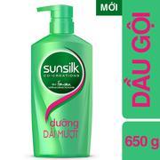 Dầu gội Sunsilk xanh lá dưỡng dài mượt 650g 67102832