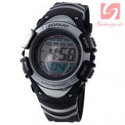 Đồng hồ điện tử đeo tay thể thao Popart 385 - Trắng