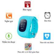 Đồng Hồ Định Vị Và Giám Sát Trẻ Em Thông Minh -Smartwatch(Xanh Xám)
