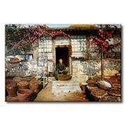 Tranh in canvas sơn dầu Thế Giới Tranh Đẹp Scenery 049