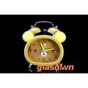 Đồng hồ báo thức để bàn cho bé 17051 (Vàng Đậm)