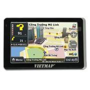 Thiết bị dẫn đường GPS cho ô tô Vietmap R79 (Đen phối bạc)
