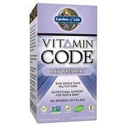 Garden of Life Vegetarian Prenatal Multivitamin Supplement with Folate - Vitamin Code Raw Prenatal W...