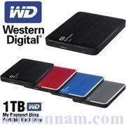 Ổ cứng gắn ngoài WD Passport Ultra 1TB USB 3.0