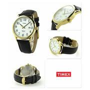 Đồng hồ nam/nữ Dây da Timex TW2P75700 (Đen)