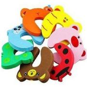 8 pcs EVA Cute Funny Cartoon Animal Door Stop Doorstop for Baby Children Safety Finger Protection - ...