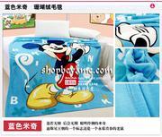 Chăn băng lông Disney Mickey loại dày 1,5x2m