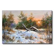 Tranh in canvas sơn dầu Thế Giới Tranh Đẹp Scenery 009