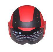 Mũ bảo hiểm lỗ sau kính 230-ĐH