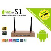 Smart tivi box - Chính hãng 100% Kiwibox S1 - Xem 3D và 4K siêu mượt