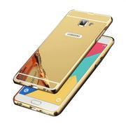 Ốp lưng dành cho Samsung Galaxy A7-2016 nguyên khối gương (Vàng)