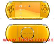 Sony PlayStation Portable (PSP) 3006 (Piano Yellow) Fireware5.03