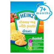 Bột ăn dặm mì ý rau củ và phô mai 125g Heinz
