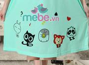 Váy bầu kết hợp cho con bú Miss you MB66-4