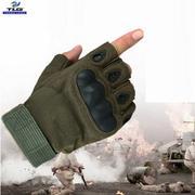 Găng Tay Chiến Thuật Hở Ngón Size XL (Xanh lính)