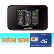 Bộ Phát Wifi 3G/4G Emobile GL10P+Sim 4G Mobifone 30GB/tháng