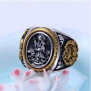 Nhẫn bạc nam size 9 handmade Hadosa
