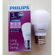 Bóng đèn Philips Ess Ledbulb 3W E27 3000K 230V A60 Ánh sáng( Vàng)