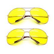 Bộ đôi kính mắt vàng nhìn xuyên đêm PA102