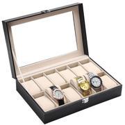 Hộp đựng đồng hồ 12 ngăn bằng da cao cấp Oli LA283