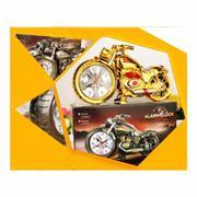 Đồng hồ báo thức mô hình moto (Gold)
