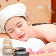 Massage Body Đá Nóng Kết Hợp Xoa Bóp Bấm Huyệt Toàn Thân- Gai A Spa