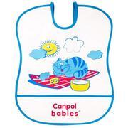 Yếm ăn nhựa mềm Canpol 2/919