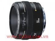 ống kính máy ảnh CANON : Lens Canon EF 50mm F1.4 USM