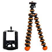Chân máy ảnh đa năng Techmate TMTP-01 - Đen cam
