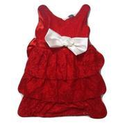 Đầm Zara đính nơ trắng 15kg - 22kg