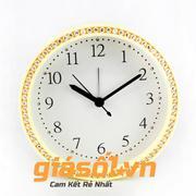 Đồng hồ báo thức King Time đính đá - US003 (Vàng)